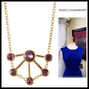 REBECCA MINKOFF PENDANT STATEMENT NECKLACE